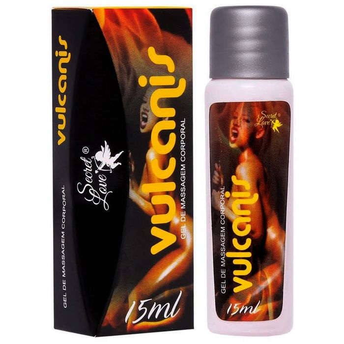 Excitante Unissex Esquenta E Esfria Vulcanis – 15ml – Secret Love