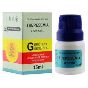Gel Retardante para massagem Trepesemia -  15ml - Segred Love