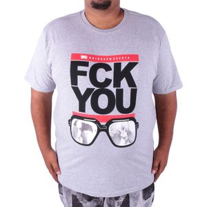 CAMISETA FCK YOU GLASS BIG