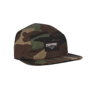 CHRONIC 019/336 BONÉ FIVE PANEL - V3 (CAMUFLADO SUPER VERDE)