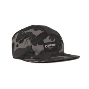 CHRONIC 019/336 BONÉ FIVE PANEL - V2 (CAMUFLADO CINZA ESCURO)