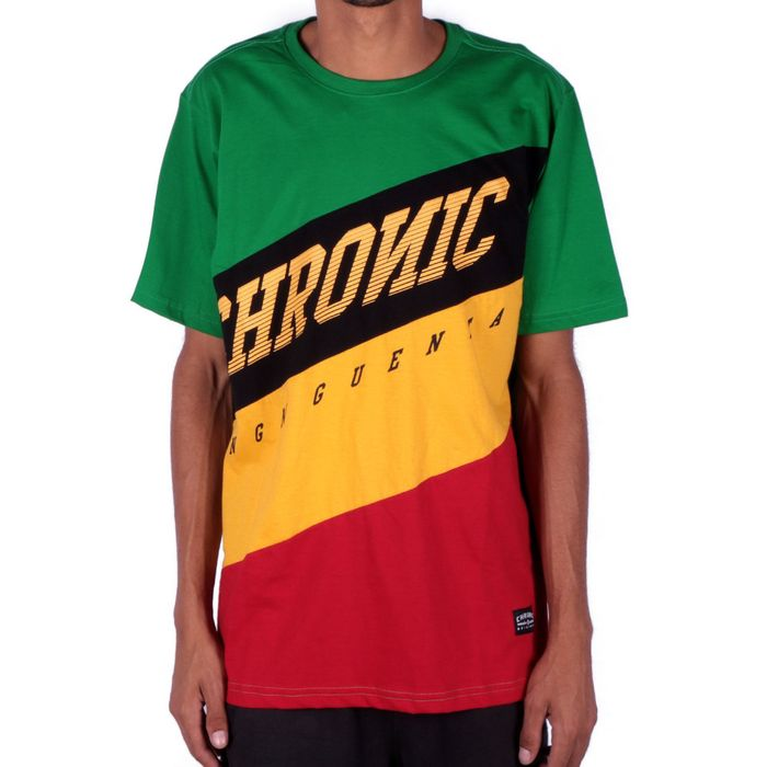 CAMISETA REGGAE CHRONIC INCLINADAS