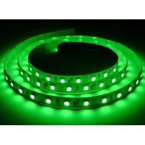 Fita LED 3528 c/ 60 LEDs Verde IP20 - 5mt - 6w/mt - 12v