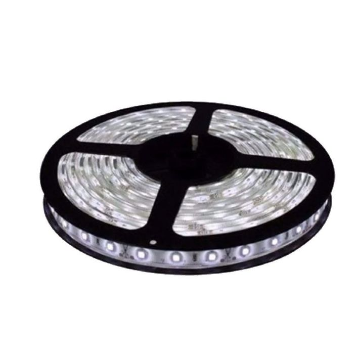 Fita LED 3528 c/ 120 LEDs IP65 5mt - 8w/mt - 12v