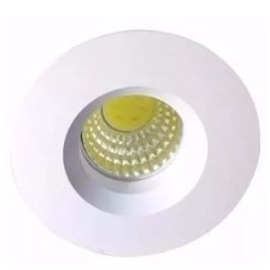 SPOT INTEGRADO A LED REDONDO COB IP20 EMBUTIR 3W SHL