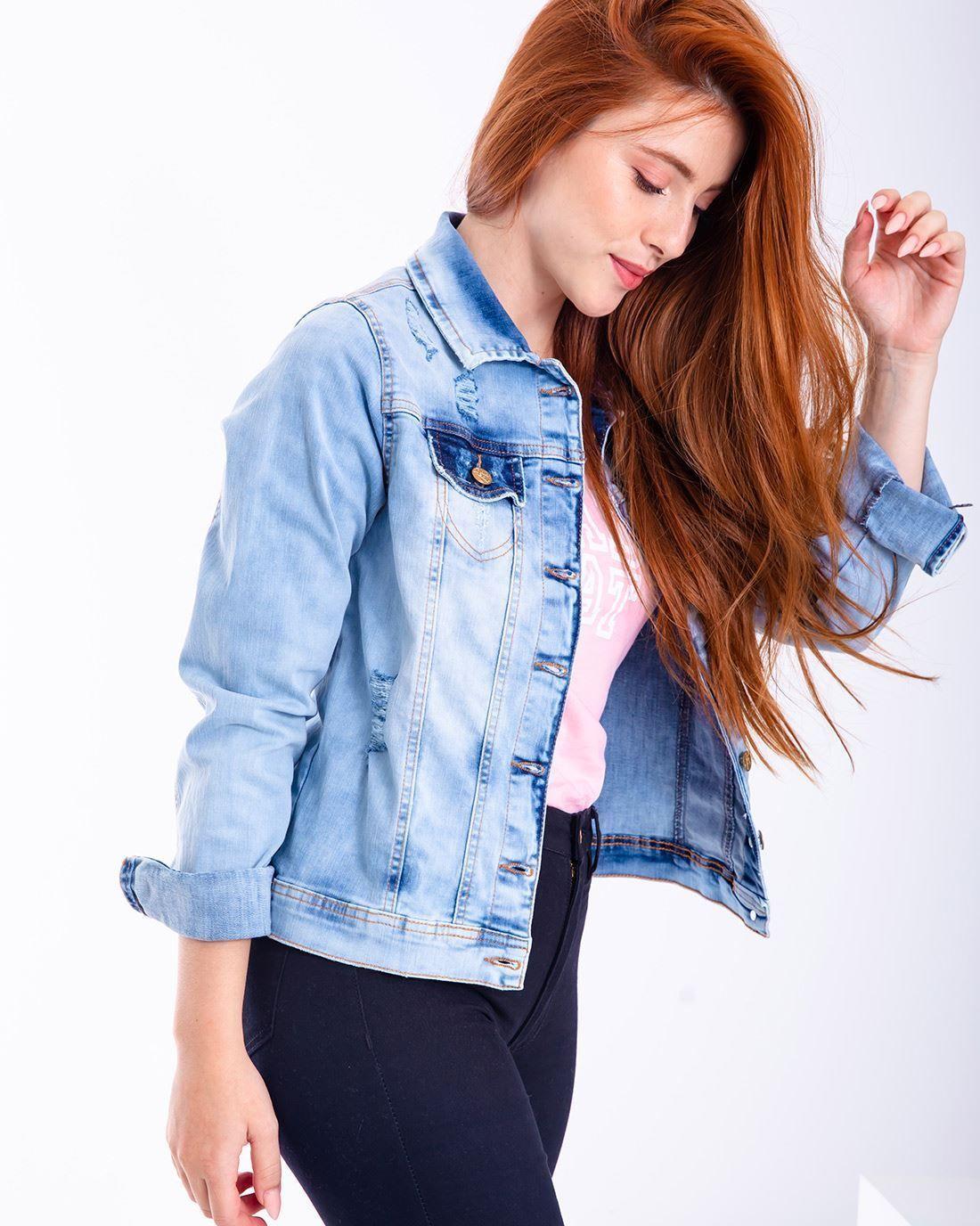 0c3576ef6 Jaqueta Jeans Badcat Clara - Compre agora | Badcat Store