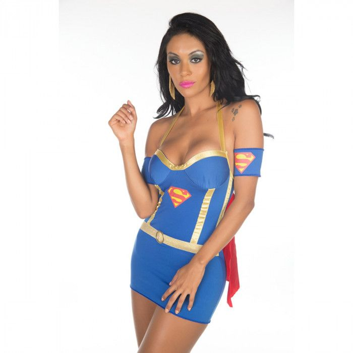 Fantasia Super Girl Pimenta Sexy