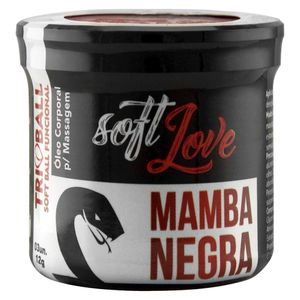 TRIBALL MAMBA NEGRA ANAL E VAGINAL 3 UND SOFT LOVE