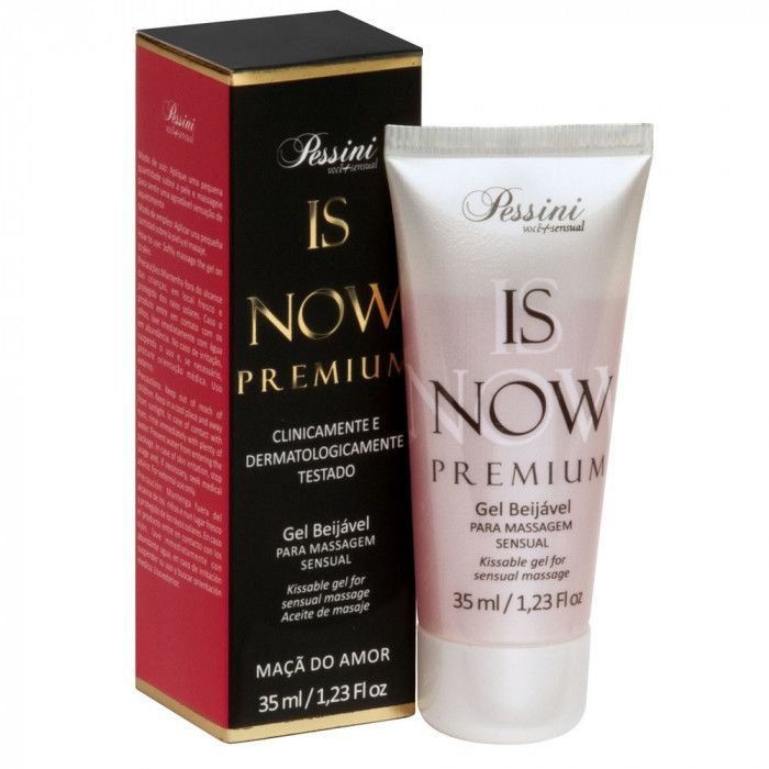 IS NOW Premium Gel Comestível Hot 35ml Maça do Amor Pessini