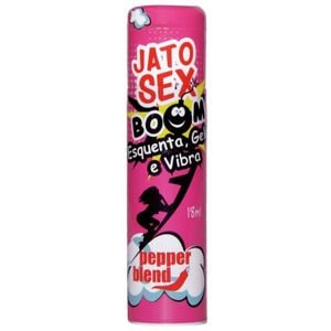 JATO SEX BOOM ESQUENTA,GELA E VIBRA PEPPER BLEND