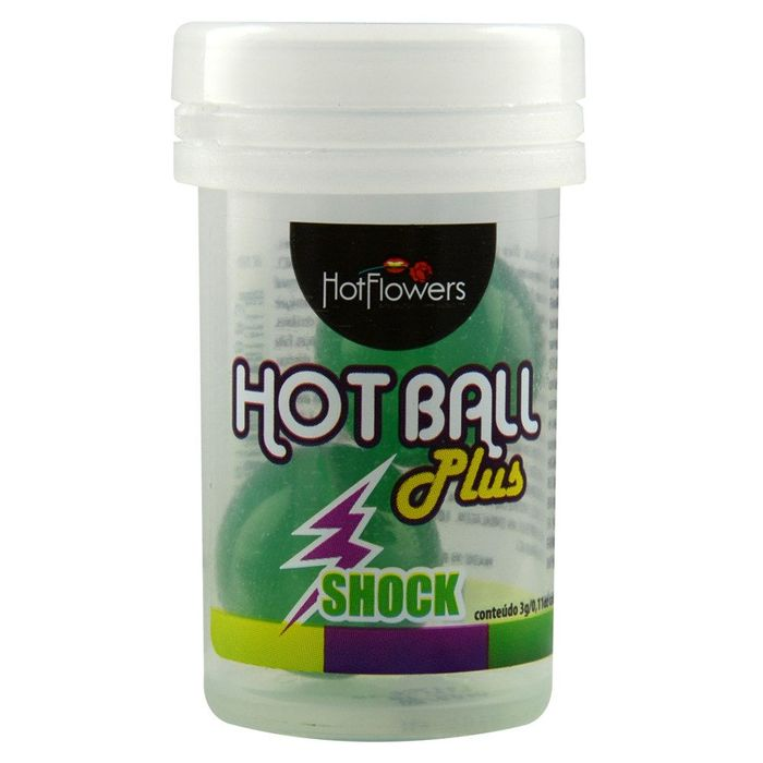 HOT BALL PLUS BOLINHA SHOCK HOT FLOWERS
