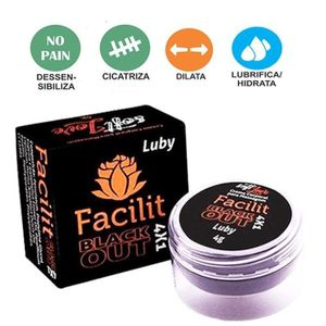 Creme Anestésico Anal 4 x 1 Facilit Luby 4gr Soft Love