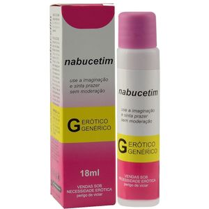 NABUCETIM EXCITANTE ICE 18ML SECRET LOVE