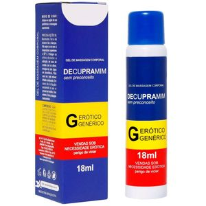 DECUPRAMIM GEL ANAL 18ML SECRET LOVE