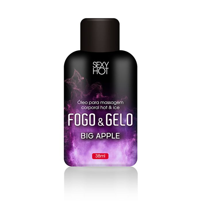 GEL PARA SEXO ORAL FOGO E GELO SABOR Big Apple