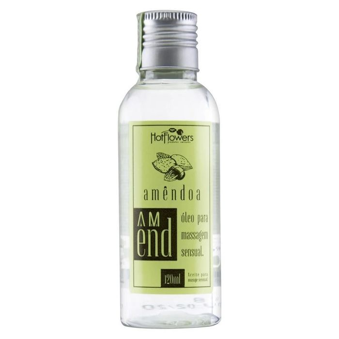 Óleo de Massagem Amêndoa Amend 120ML Hot Flowers