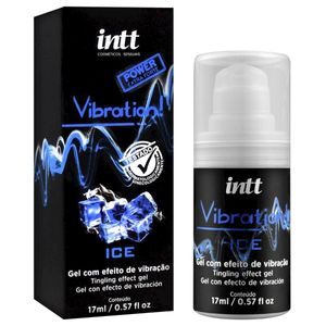 PACK 10 UNIDADES VIBRATION ICE EXTRA FORTE GEL EXCITANTE 17ML INTT