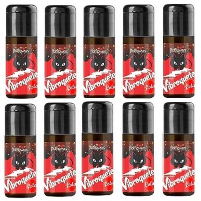 Pack 10 Unidades Vibroquete Cola 12gr Hot Flowers