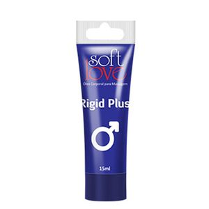 PACK 10 UNIDADES RIGID PLUS BISNAGA 15ML SOFT LOVE
