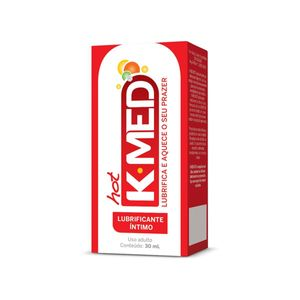 K-MED HOT GEL LUBRIFICANTE ÍNTIMO 30ML CIMED