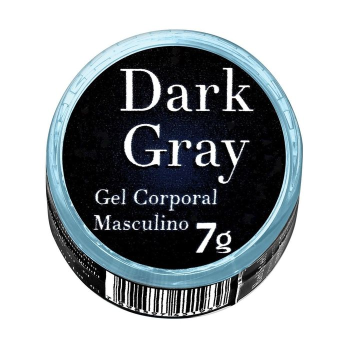 DARK GRAY GEL EXCITANTE MASCULINO 7G GARJI