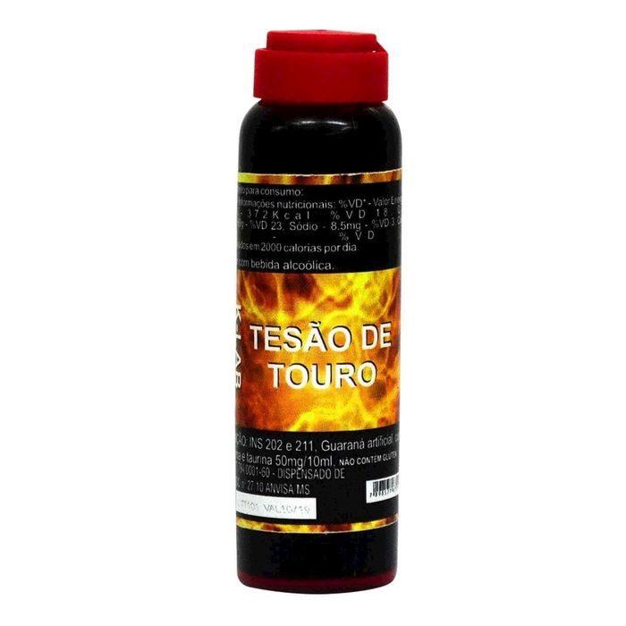 Tesão De Touro Estimulante Afrodisíaco Natural 10ml K-lab