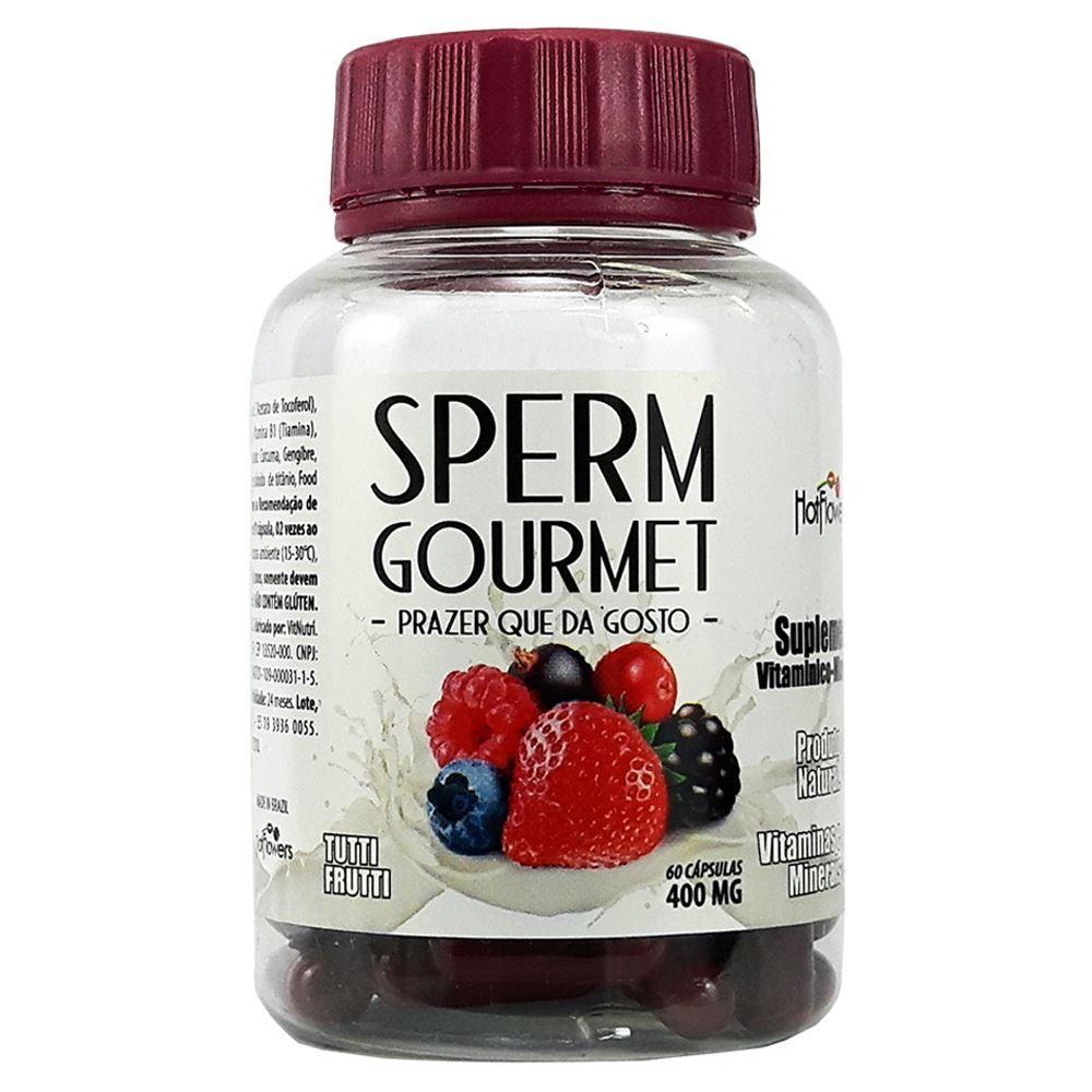 Sperm Gourmet Sabor na ejaculação