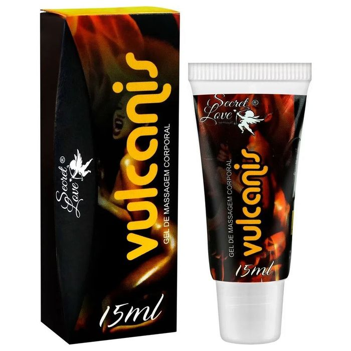 Vulcanis Excitante Unissex Esquenta E Esfria 15ml Secret Love