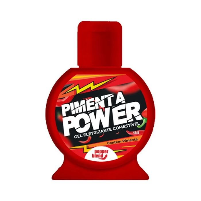 Black Power Gel Eletrizante Comestível Pimenta 15gr Pepper Blend