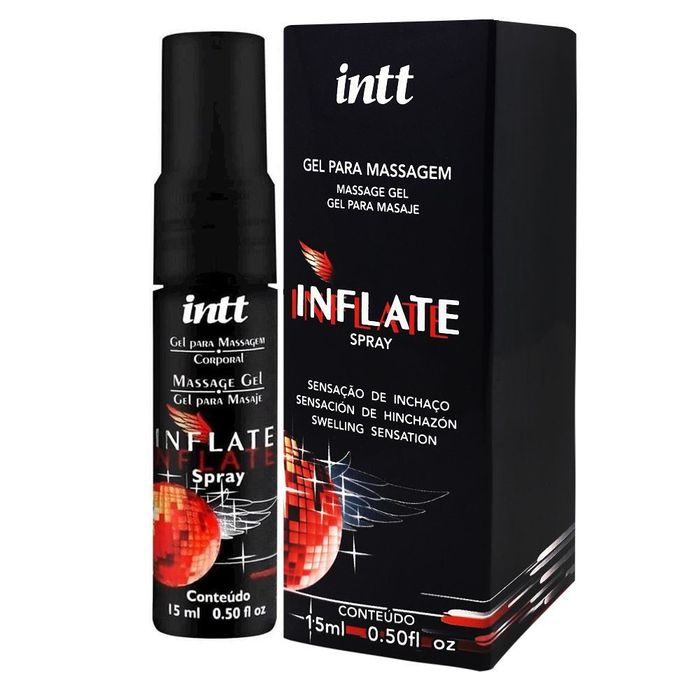 Inflate Gel Vasodilatador Em Spray 15ml Intt
