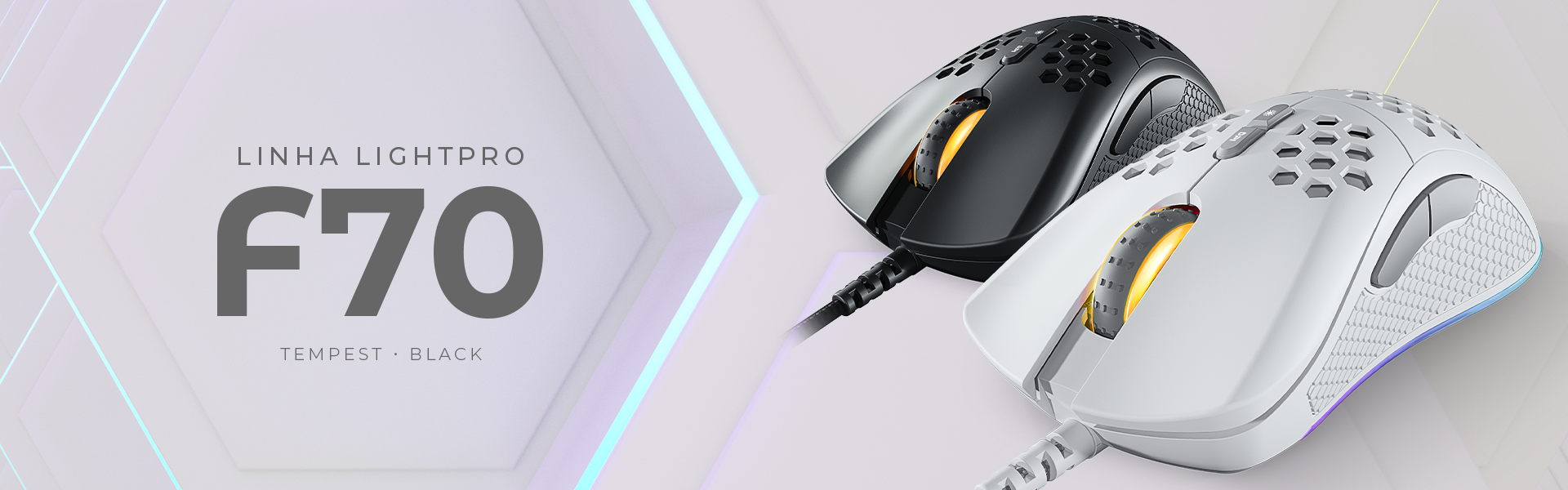 Mouse Gamer Ultraleve Fallen F70
