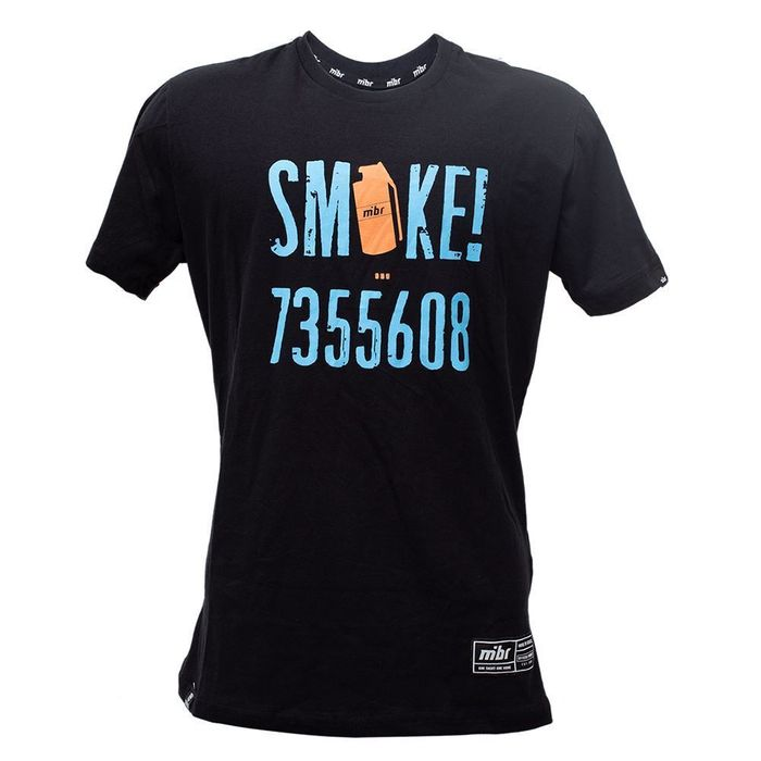 CAMISETA MIBR CASUAL SMOKE