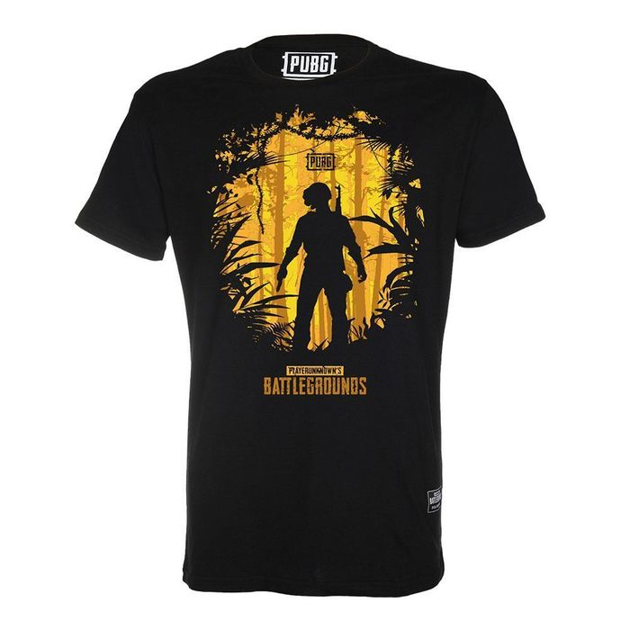 CAMISETA PUBG JUNGLE HEROES