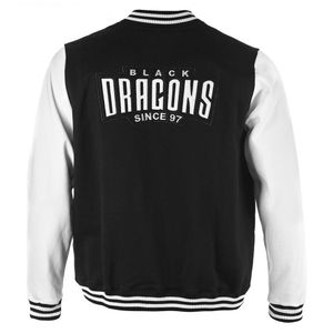 JAQUETA COLLEGE BLACK DRAGONS