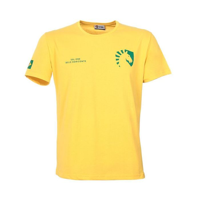 CAMISETA TEAM LIQUID - BRASIL