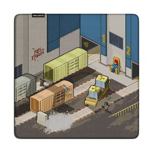 MOUSEPAD GAMER FALLEN TRAIN - SPEED LARGE