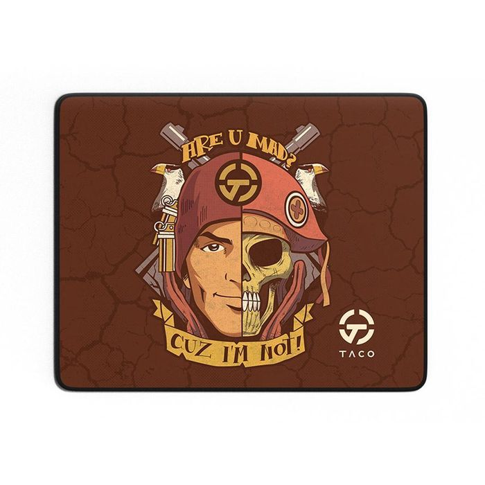 MOUSEPAD GAMER TACO ARE U MAD - SPEED