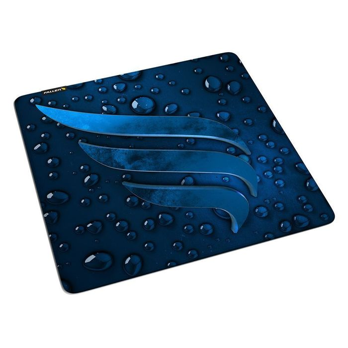 MOUSEPAD GAMER FALLEN WATER BLUE - SPEED GRANDE