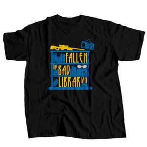 CAMISETA GFALLEN BAD LIBRARIAN
