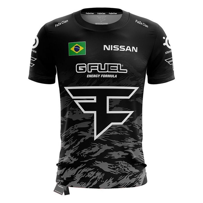 UNIFORME FAZE CLAN OFICIAL TIGER GREY 2020