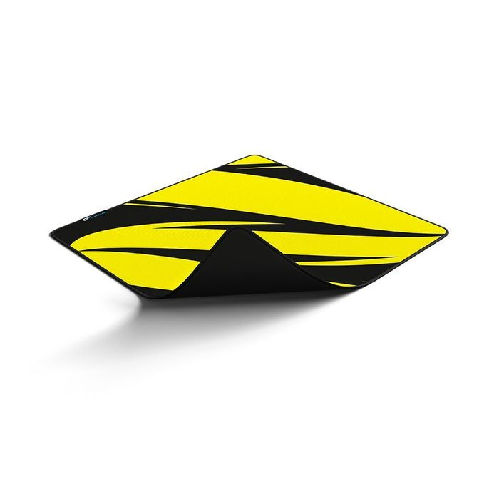 MOUSEPAD GAMER GFALLEN ABSTRATO AMARELO E PRETO - SPEED