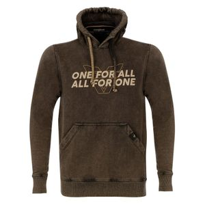 Moletom Team One All For One - Preto Estonado