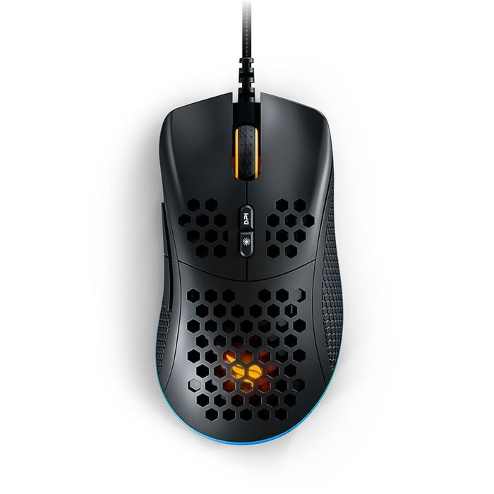 Mouse Gamer Ultraleve Fallen F70 Black