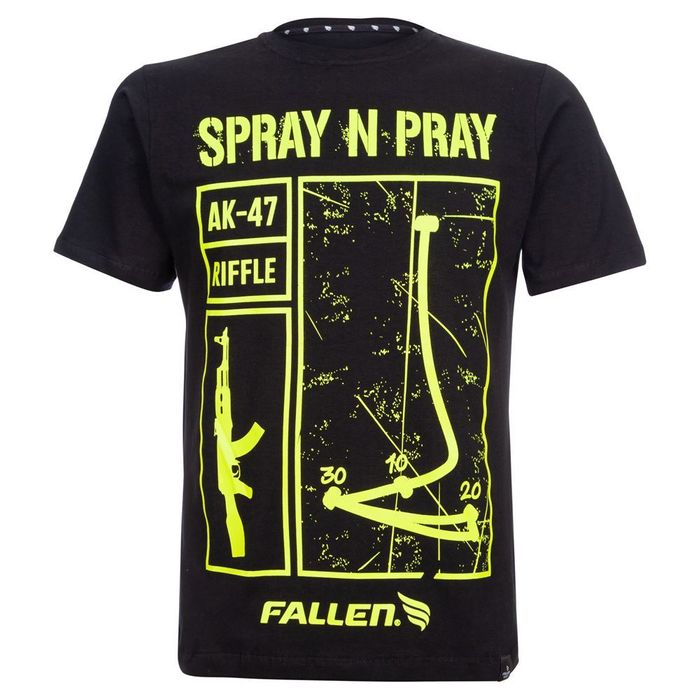 Camiseta Fallen Spray N Pray