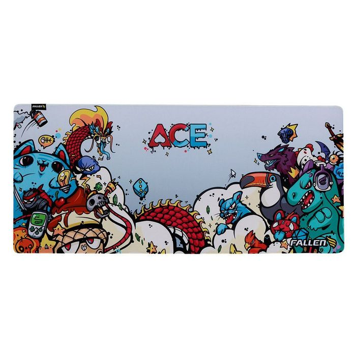 Mousepad Gamer Fallen Ace - Speed++ Estendido