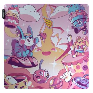 Mousepad Gamer Fallen Candy Rgb - Speed++ Grande