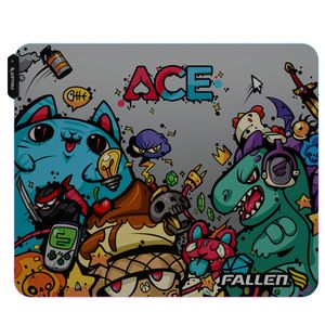 Mousepad Gamer Fallen Ace Rgb - Speed++ Médio