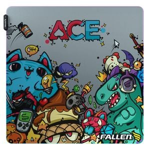 Mousepad Gamer Fallen Ace Rgb Speed++ Grande