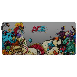 Mousepad Gamer Fallen Ace Rgb Speed++ Estendido
