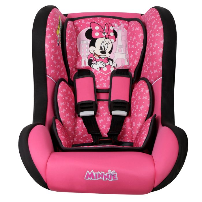 CADEIRA PARA CARRO DISNEY TRIO SP COMFORT MINNIE MOUSE PARIS - TEAM TEX